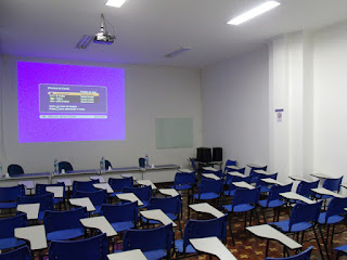 sala de treinamento workshop montagem