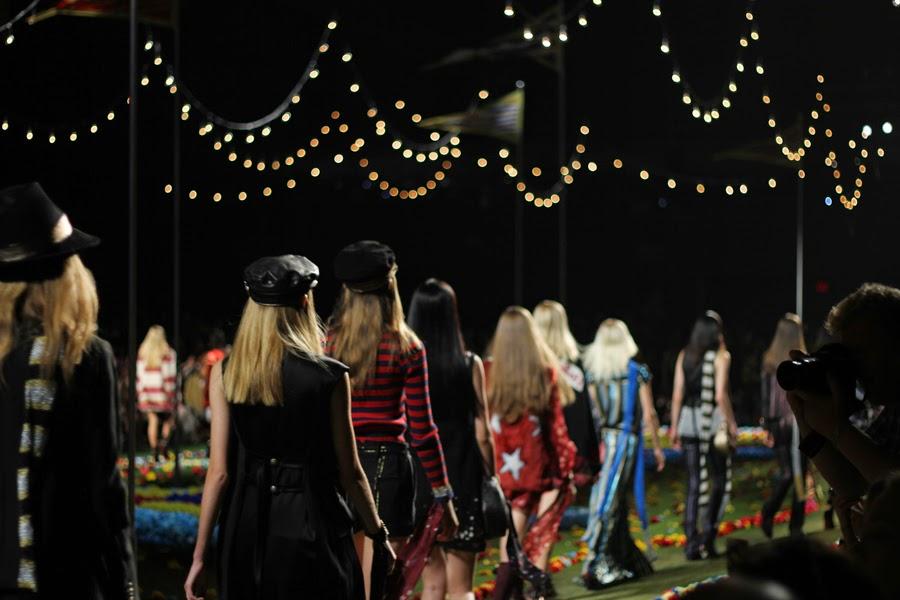 new york fashion week tommy hilfiger show catwalk models