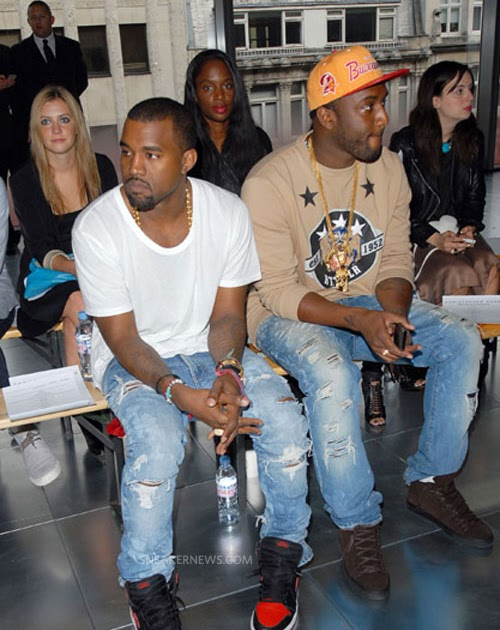 202b067e883 KIXIONARY WORLD  CELEBRITY SNEAKER ROCKERS  Kanye West – Air Jordan 1  Bred