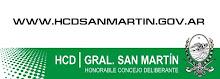 Anuario 2010 del Honorable Concejo Deliberante de Gral San Martìn
