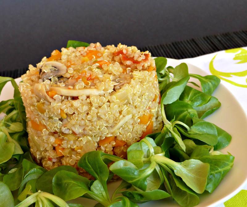 Una fiera en mi cocina quinoa con verdura salteadas tmx - Alternativas thermomix ...