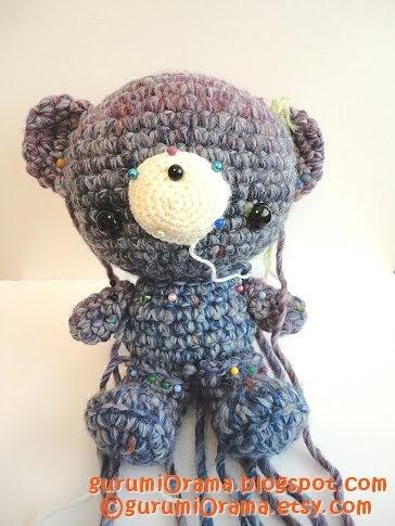 Spontaneous Joy: new amigurumi pattern: bearyBear & bffBunny