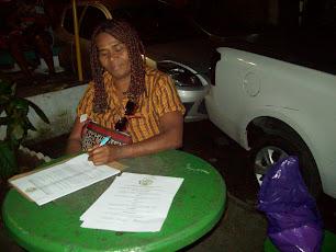 Valdelice (Coordenação - Expressão Afrobrasileira - CONCULT)