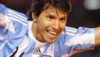 Goles del Kun Aguero en Argentina vs Costa Rica