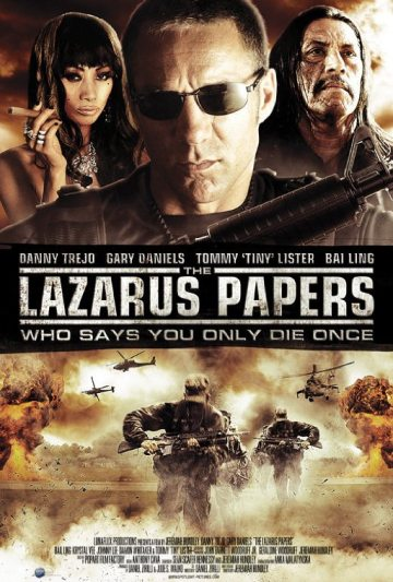Gary Daniels Lazarus+papers