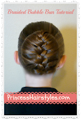 Recent Favorite Hairstyle Tutorial - The Braided Bubble Bun -