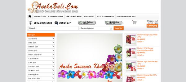 Anekabali.com Toko Online Souvenir Bali Terpercaya