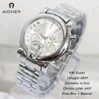 jual online jam tangan aigner wanita