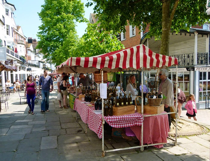 Pantiles, market, shops, Tunbridge Wells
