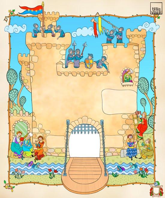La duende de mi biblioteca proyecto castillos en - Castillos para ninos de infantil ...