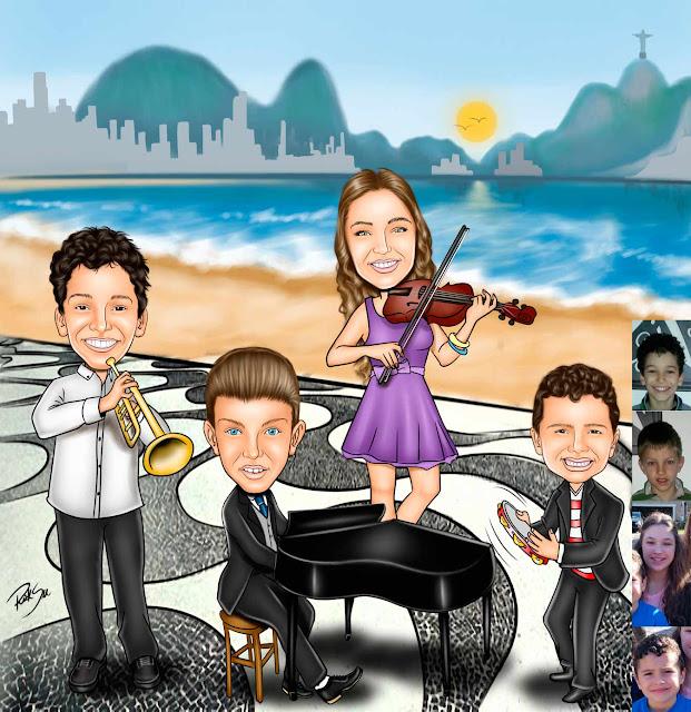 #praia #piano #músicos #banda #infantil