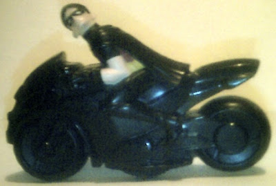 Side of Robin on motorcyle from McDonald's Young Justice Happy Meal