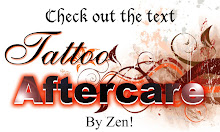 AFTER CARE TATTOO