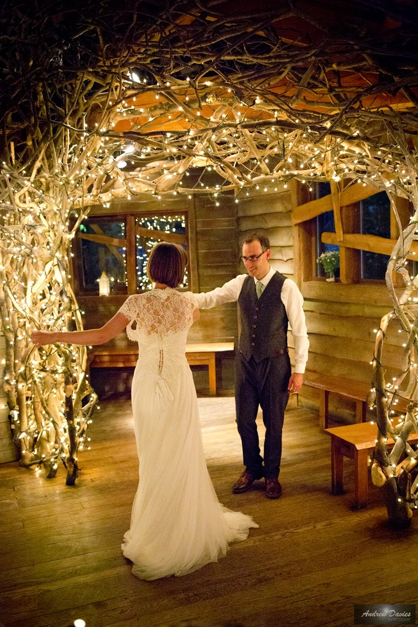 Alnwick Treehouse Wedding Photograph