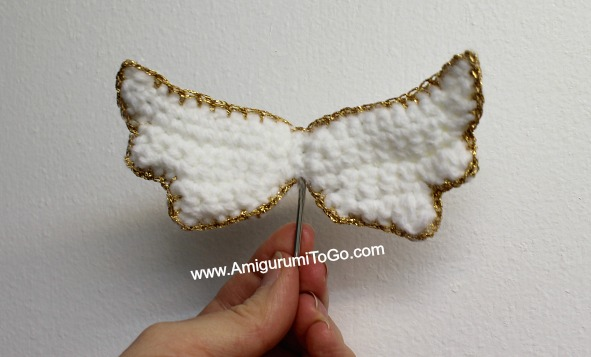 Crochet Pattern Angel Wings : Amigurumi Angel Wings With Halo ~ Amigurumi To Go
