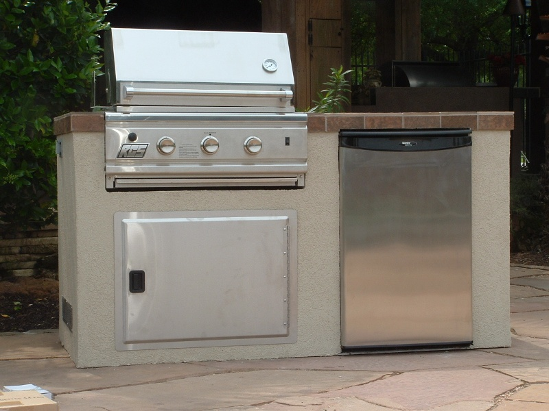 Custom Outdoor Smokers : Outdoor Kitchen Gas light Spring, american outdoors grills And custom