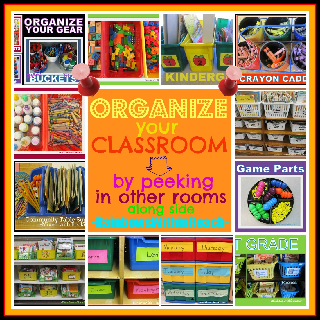 Classroom Organization Ideas Pictures ~ Hoppin classroom organization vignettes captured in