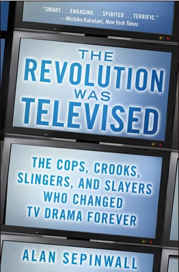 Buy my book! 'The Revolution Was Televised' is coming out