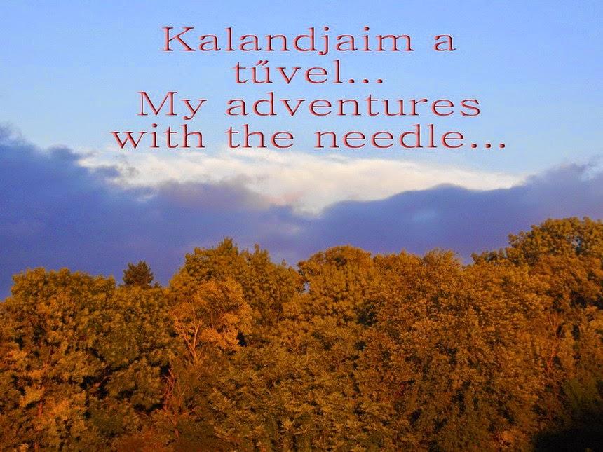 Kalandjaim a tűvel....My adventures with the needle...