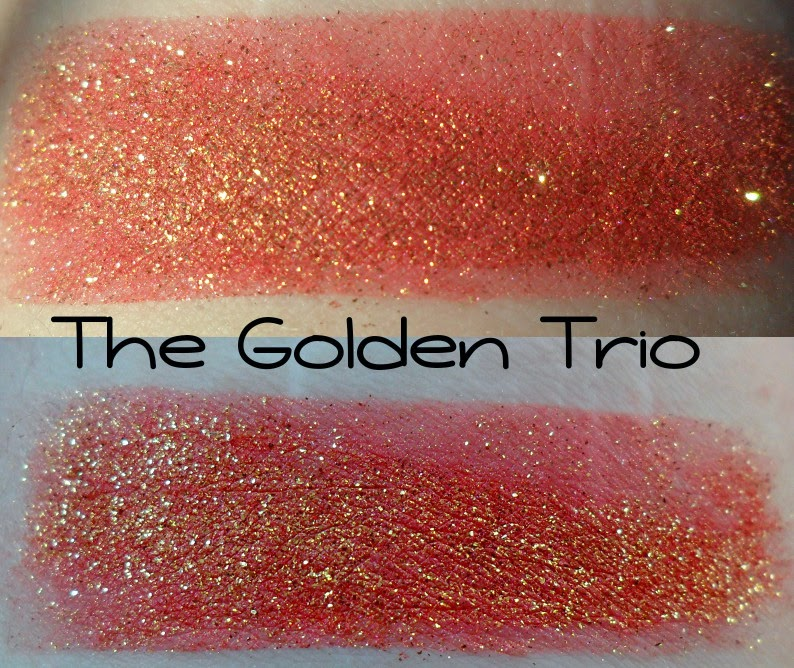 Geek Chic Golden Trio Swatch