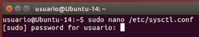 sudo nano /etc/sysctl.conf