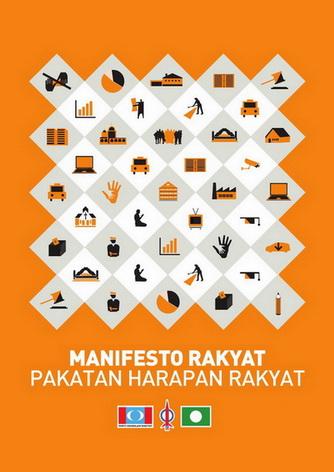 TERKINI] Manifesto Pakatan Harapan Rakyat #PRU13