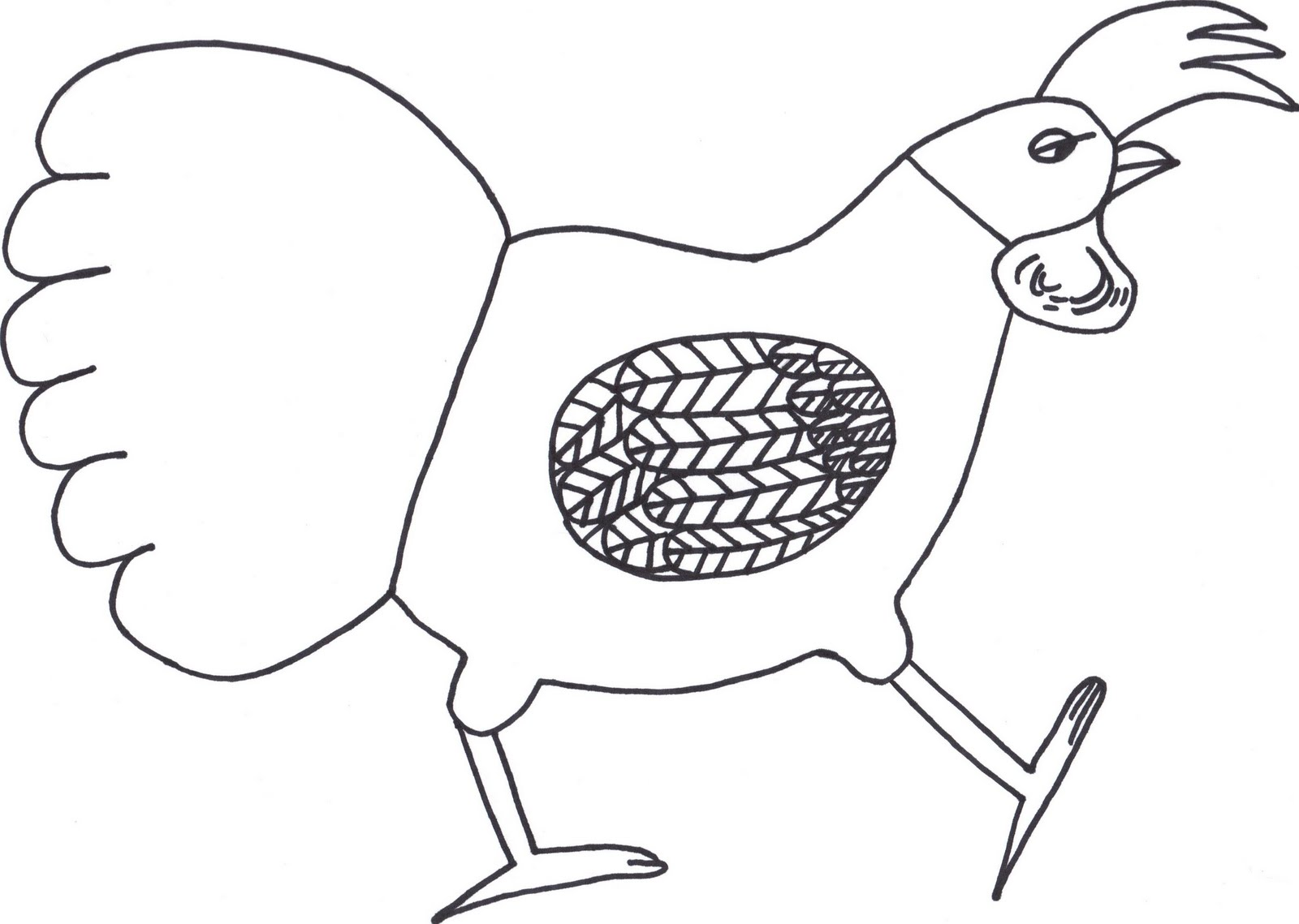 coloring pages walk - photo#21