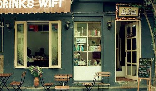 Thư giãn cuối tuần với Cafe sách.
