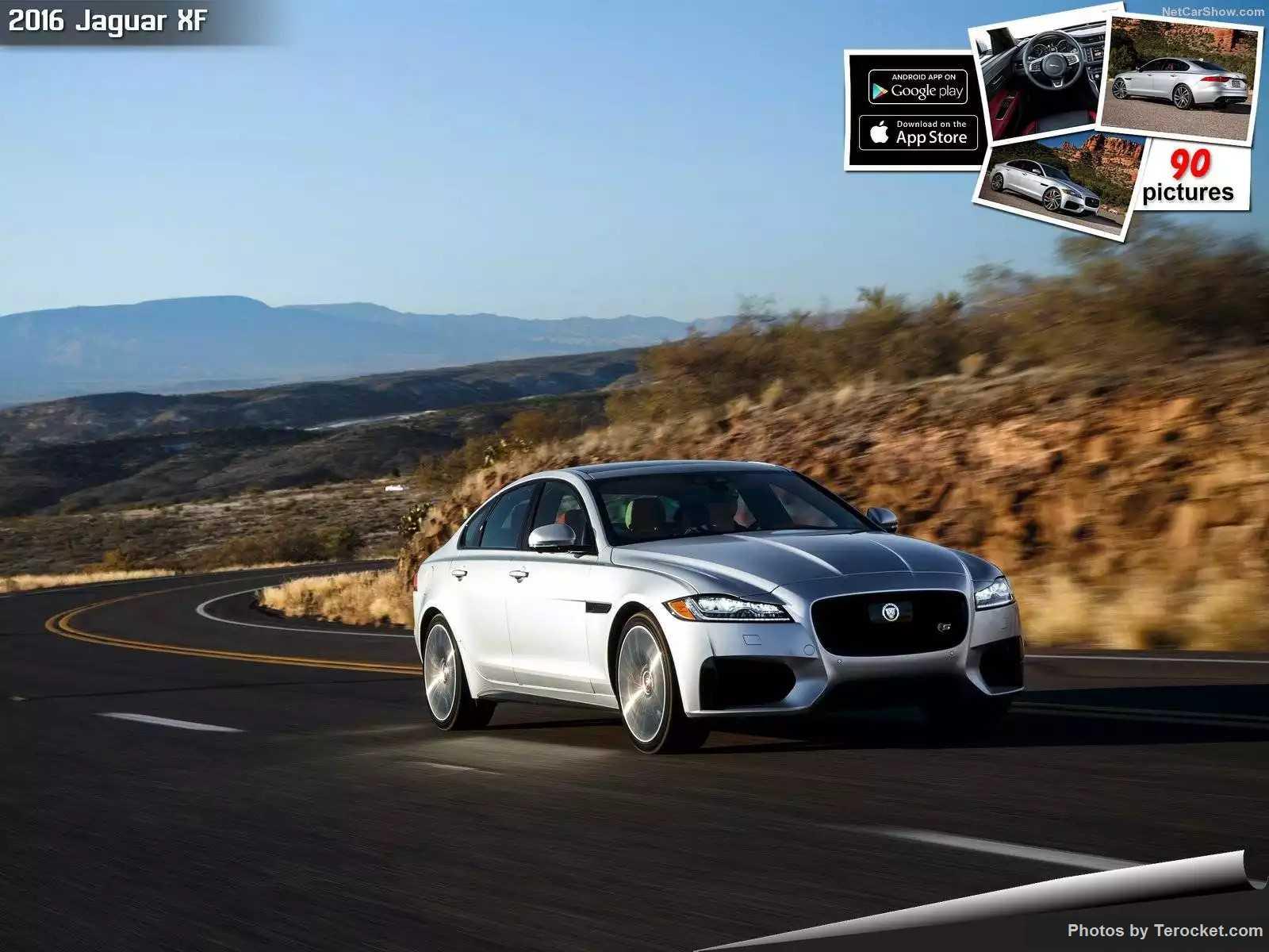 Hình ảnh xe ô tô Jaguar XF US-Version 2016 & nội ngoại thất