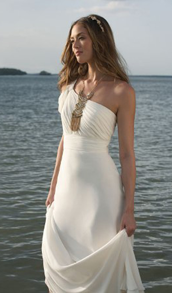 Beach wedding dresses 2015