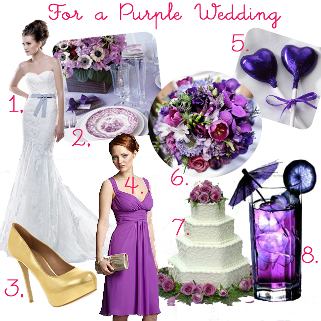 Purple Themed Weddings