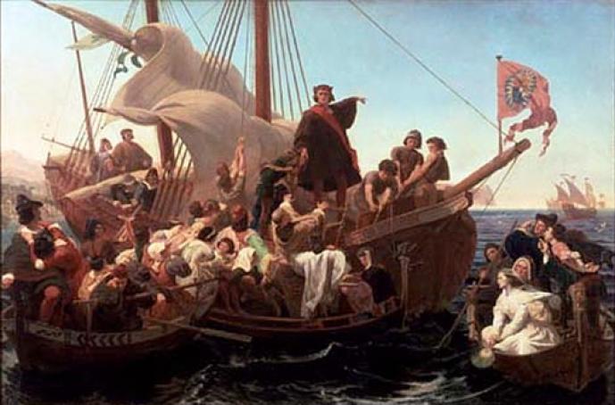 Colonización española de América Cristo%CC%81bal+Colo%CC%81n+y+la+tripulacio%CC%81n