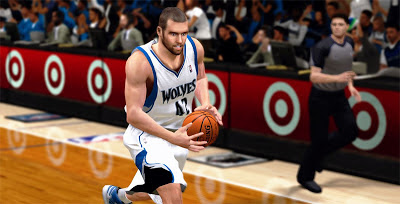 NBA 2K13 Kevin Love Cyberface with Beard