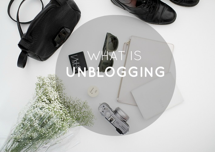 blogging, unblogging