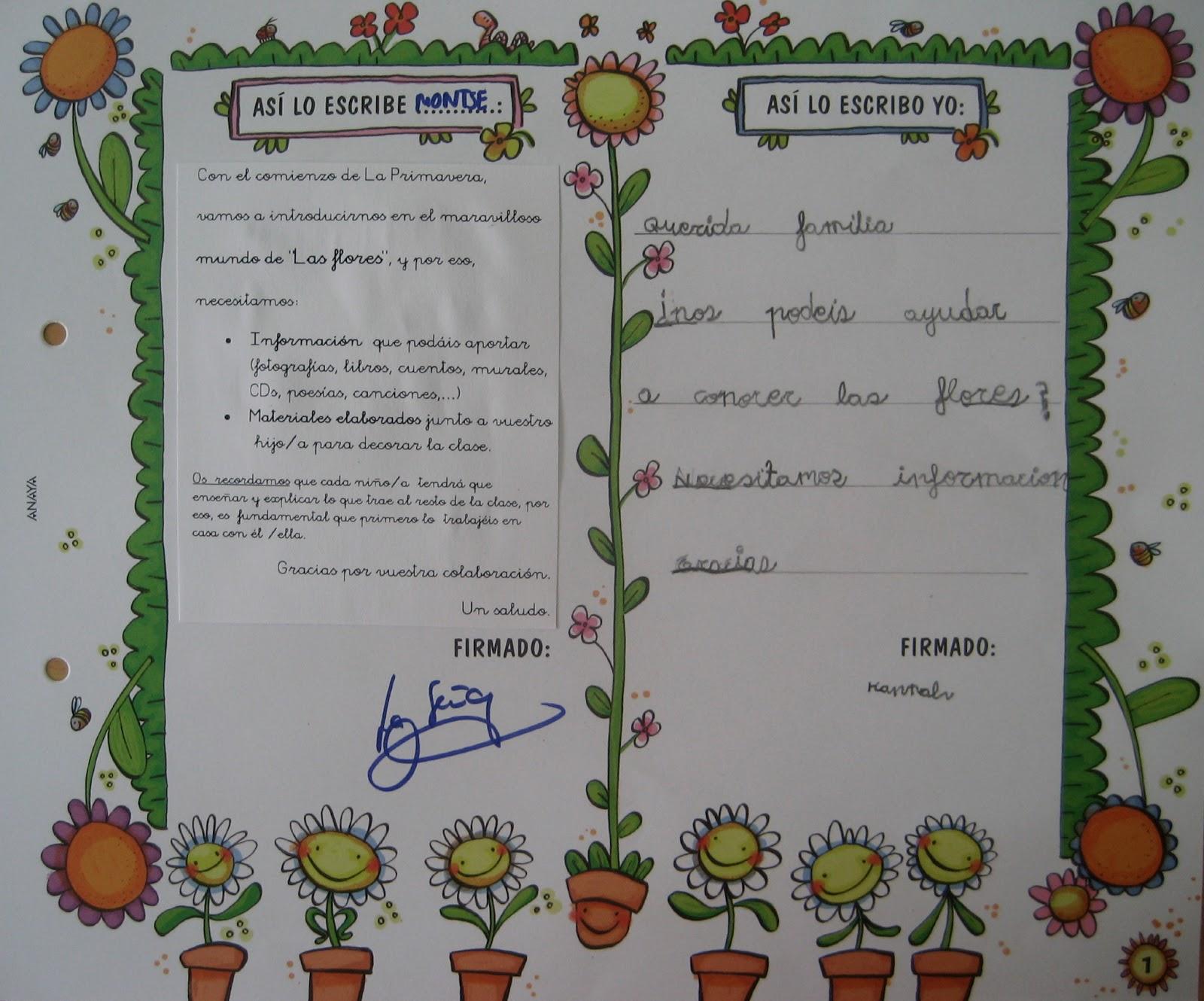 Proyecto Las Flores En Infantil