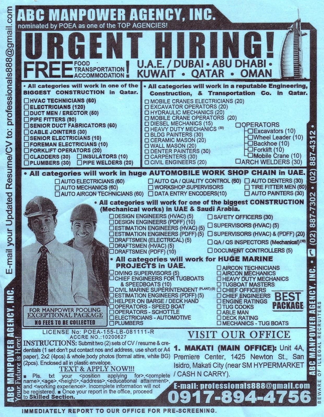 Sangguniang Bayan Ng Bauan PESO Bauan Job Hiring