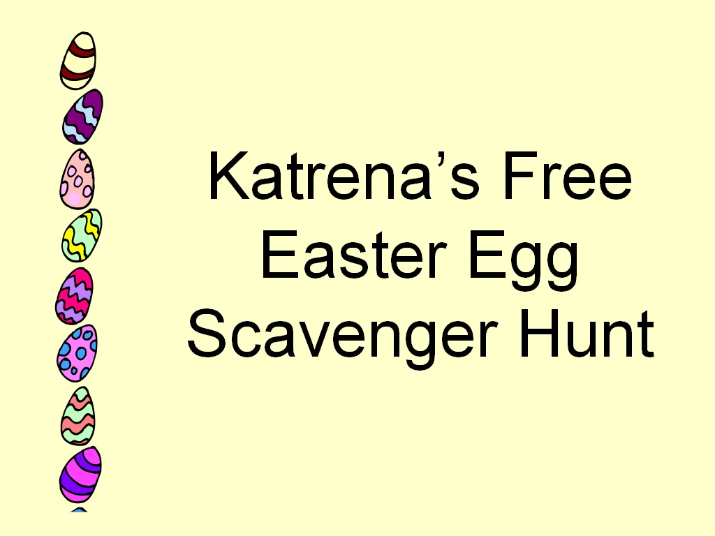 Easter Scavenger Egg Hunt Free Clues And Answers Images