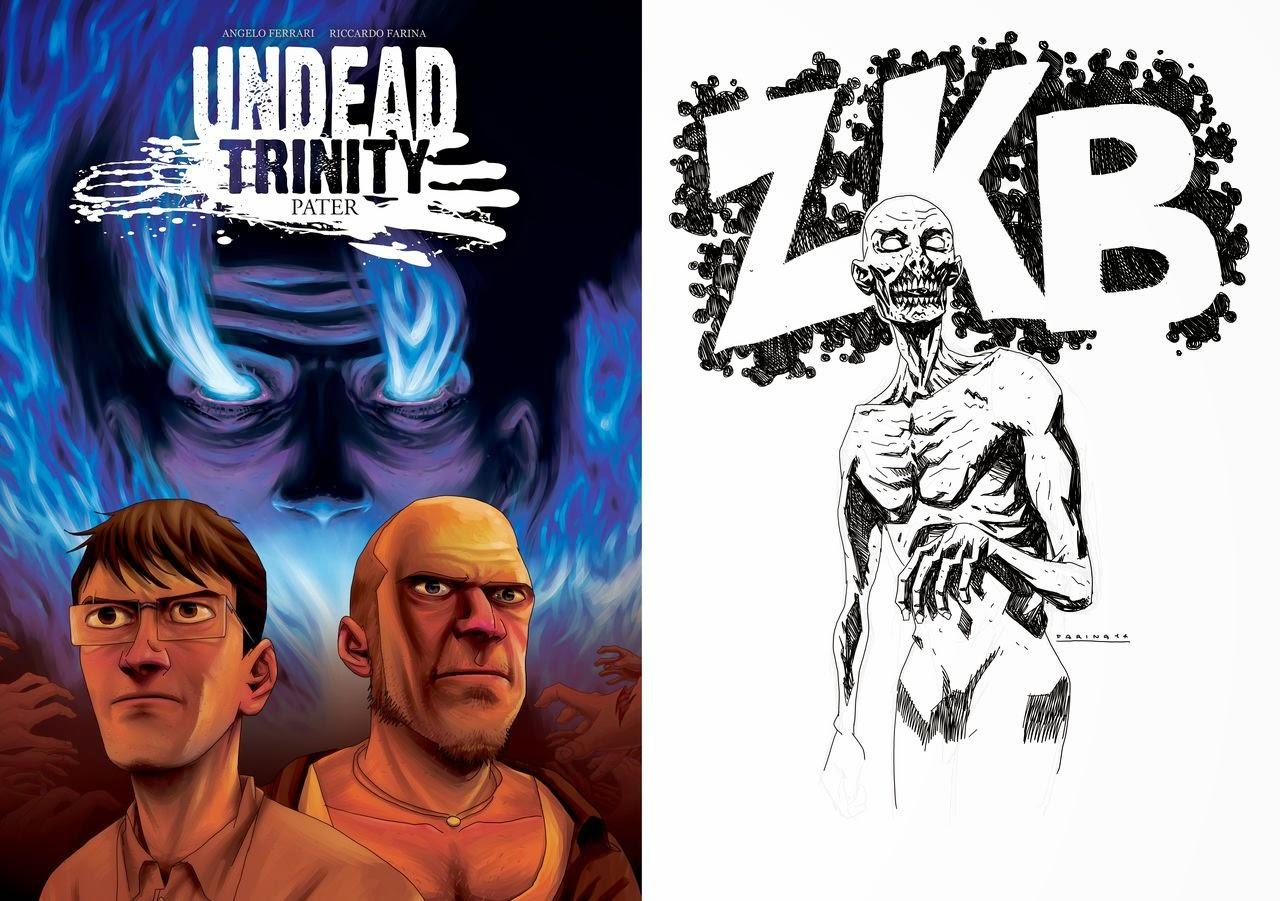 Undead Trinity - cover e dedica a ZKB