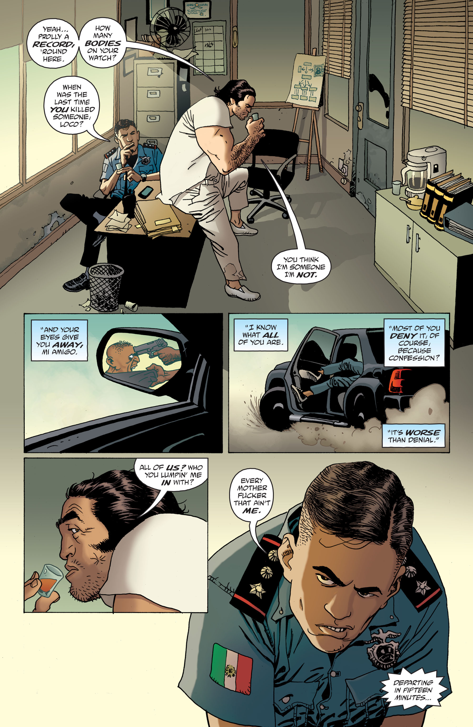 100 Bullets: Brother Lono Full Page 22