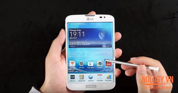LG VU 3 (F300) - Một chiếc điện thoại độc đáo của LG.