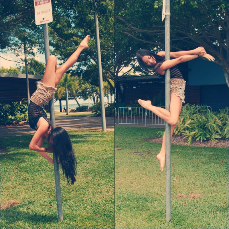 holidays, travel, paradise, island, Cairns, Australia, pole dancing, street pole, dance, The Great Barrier Reef