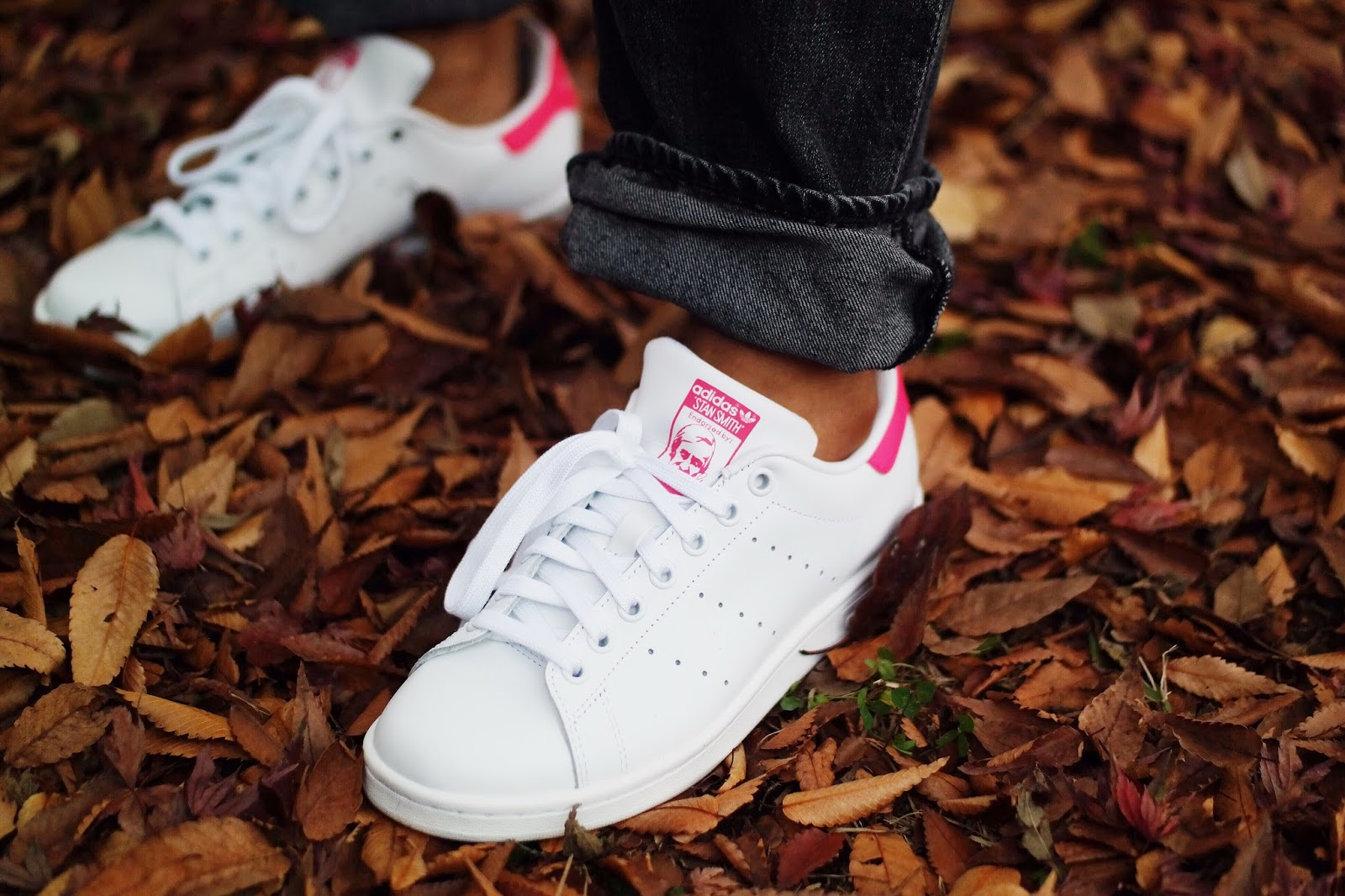 adidas pink stan smith