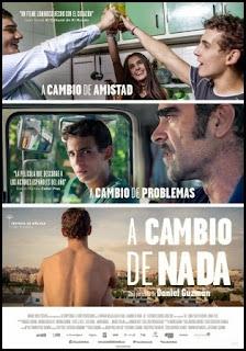 Cartel de A cambio de nada (Daniel Guzmán, 2015)