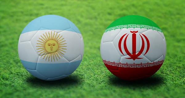 REPETICION SELECCIONES ARGENTINA VS IRAN, Goles, Resultados, Estadisticas, Online