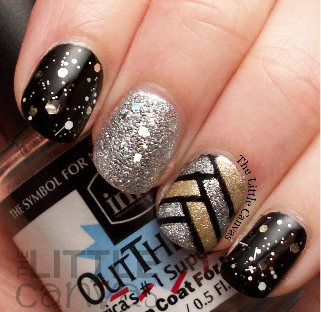 Silver nail polish meaning