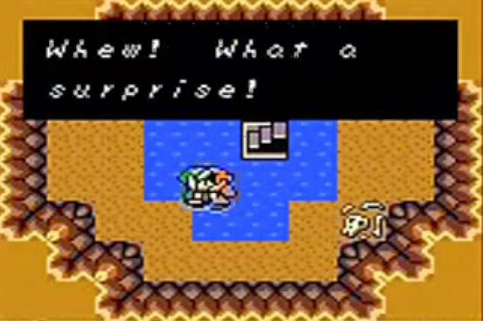 The Legend of Zelda: Link's Awakening Link kiss Marin