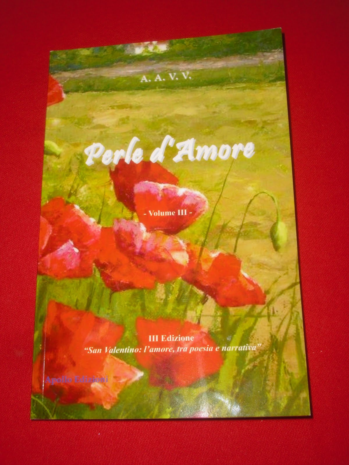 Un mio racconto nell'antologia Perle d'Amore di Apollo Edizioni 2017