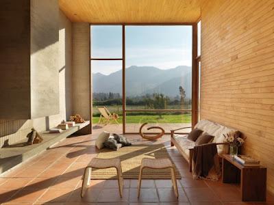 interior rumah kayu minimalis modern 2