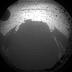 L'ombra di Curiosity su Marte