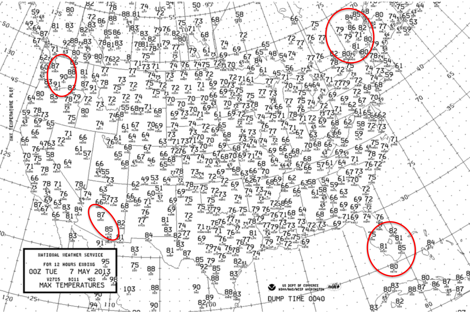 Wasatch Weather Weenies Oddities From The Big Split - Us weather map for yesterday
